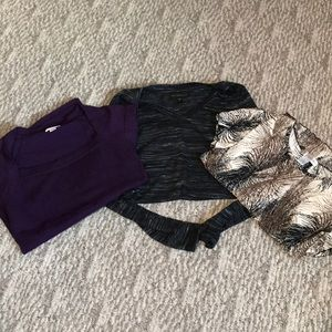 3-top bundle-all great condition willing to spilt